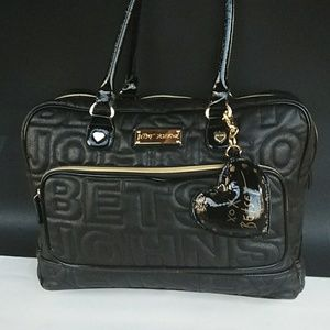 BETSEY JOHNSON XL Plush Weekend Bag